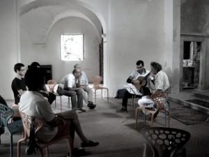 LMF13 Roland Dyens e studenti