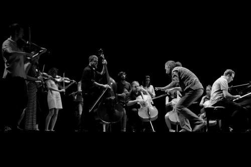 LMF16 concerto Bollani con studenti delle Master classes